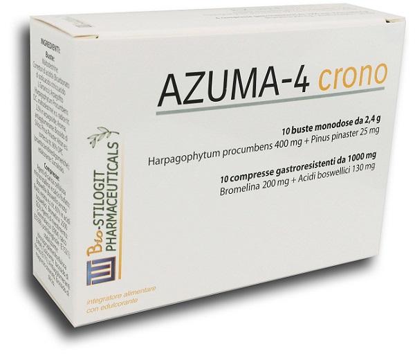 Azuma-4 Crono Integratore  10 Compresse + 10 Bustine offerta