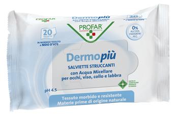 DERMO PIU SALVIETTE DETERGENTI STRUCCANTI - Farmapage.it