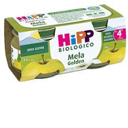 HIPP BIO OMOGENEIZZATO MELA GOLDEN 100% 2X80 G - Farmacianuova.eu
