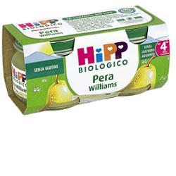 HIPP BIO OMOGENEIZZATO PERA WILLIAMS 100% 2X80 G - Farmabellezza.it