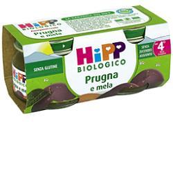 HIPP BIO OMOGENEIZZATO PRUGNA MELA 100% 2X80 G - Speedyfarma.it