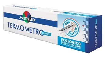 TERMOMETRO CLINICO ECOLOGICO GALLIO MASTER-AID - Farmaciasconti.it