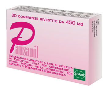PAUSANIL 30 COMPRESSE - Farmaciacarpediem.it