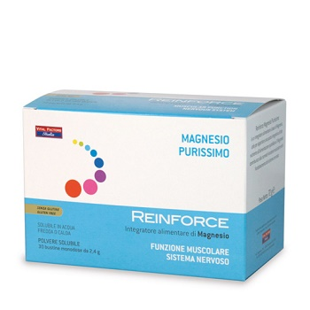 Reinforce Magnesio Purissimo Integratore 30 Bustine