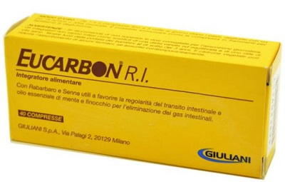 EUCARBON RI 40 COMPRESSE - Farmapage.it