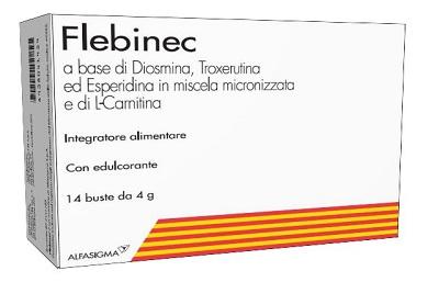 FLEBINEC 14 BUSTINE - Parafarmacia Tranchina