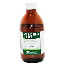 MISCELA 3 OLI 200 ML - Farmabenni.it