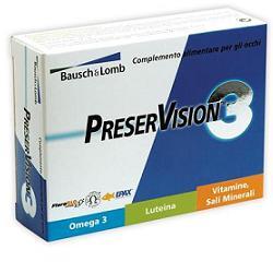 PRESERVISION 3 30 CAPSULE - farmaciadeglispeziali.it