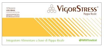 VIGOR STRESS 10 FLACONCINI DA 10 ML