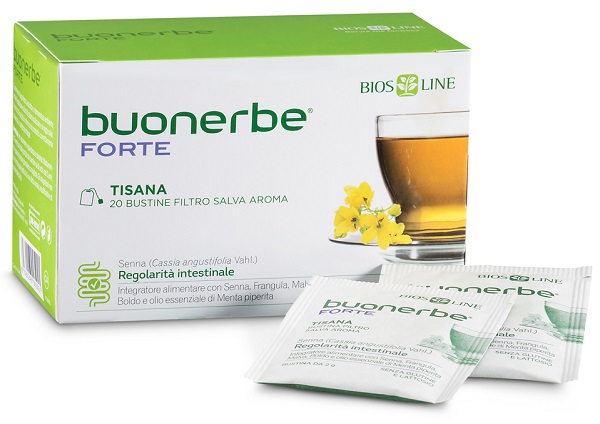 BIOSLINE BUONERBE REGOLA TISANA 20 BUSTINE - La farmacia digitale