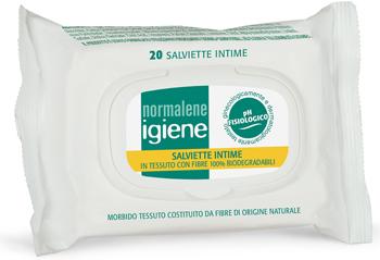 NORMALENE IGIENE SALVIETTE INTIME 20 PEZZI - Farmastop