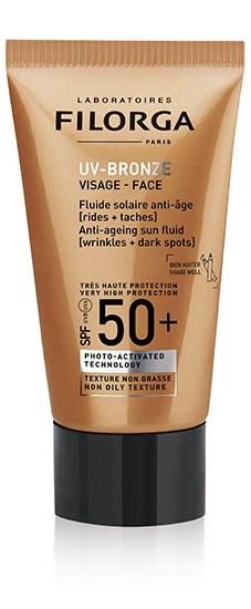 FILORGA UV BRONZE FACE 50+ 40 ML - Farmacia Basso