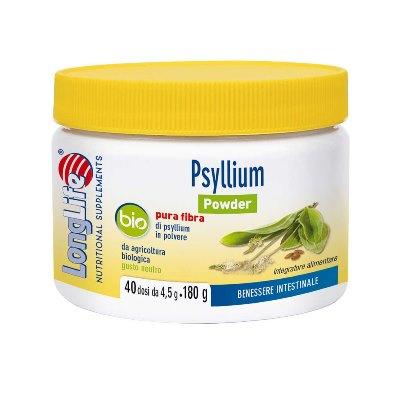 LONGLIFE PSYLLIUM BIO POWDER 180 G - Farmaseller