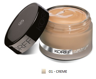 KORFF CURE MAKE UP FONDOTINTA LIFT 01 CRE - Farmacia Massaro