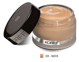 KORFF CURE MAKE UP FONDOTINTA LIFT 03 NOIX - Farmastop