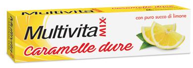 MULTIVITAMIX CARAMELLE AL LIMONE 32 G - Farmia.it