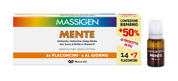 MASSIGEN MENTE 21 FLACONCINI DA 10 ML - Farmaunclick.it