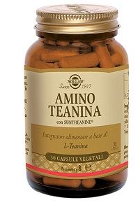 AMINO TEANINA 30 CAPSULE VEGETALI - Farmaunclick.it