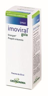 IMOVIRAL GOLA 20 ML - Farmacia Giotti