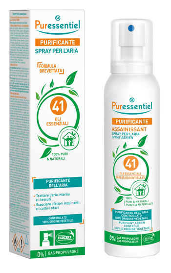 PURESSENTIEL PURIFICANTE SPRAY 41 OLI ESSENZIALI 200 ML - Farmafamily.it