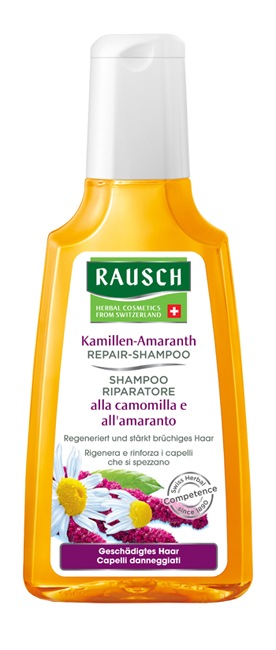 RAUSCH SHAMPOO RIPARATORE ALLA CAMOMILLA E ALL'AMARANTO 200 ML - Farmastar.it