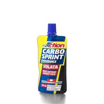 PROACTION CARBO SPRINT VOLATA ARANCIA ROSSA 50 ML - Farmacielo