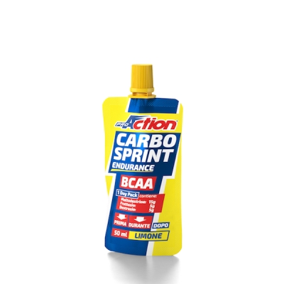 PROACTION CARBO SPRINT ENDURANCE BCAA AL LIMONE 50 ML - Farmacia Giotti