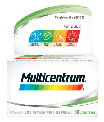 MULTICENTRUM ADULTI 30 COMPRESSE - Nowfarma.it