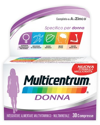 MULTICENTRUM DONNA 30 COMPRESSE - Farmastar.it