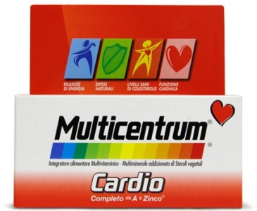 MULTICENTRUM CARDIO 60 COMPRESSE - Zfarmacia