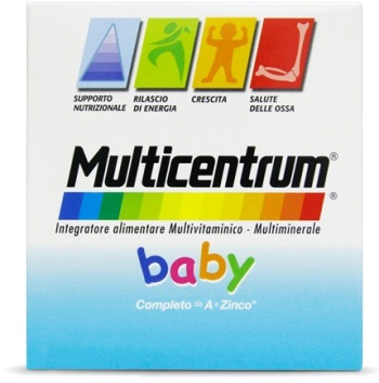 MULTICENTRUM BABY 14 BUSTINE EFFERVESCENTI - Carafarmacia.it