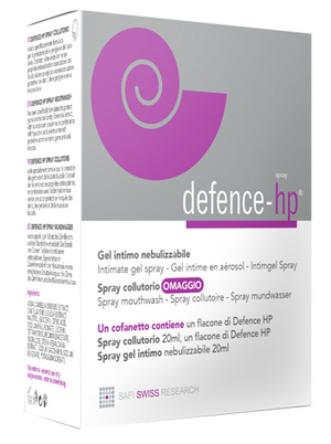 DEFENCE-HP SPRAY GENITALE 20 ML + COLLUTORIO 20 ML IN OMAGGIO - Farmaci.me