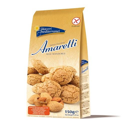 Piaceri Mediterranei Amaretti Senza Glutine 150g - Farmajoy