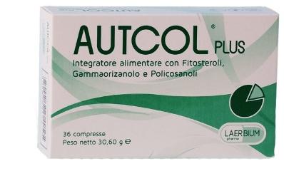 Autcol Plus Integratore Controllo Colesterolo 36 Compresse