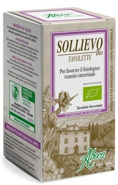 SOLLIEVO BIOLOGICO 90 TAVOLETTE - Farmabenni.it