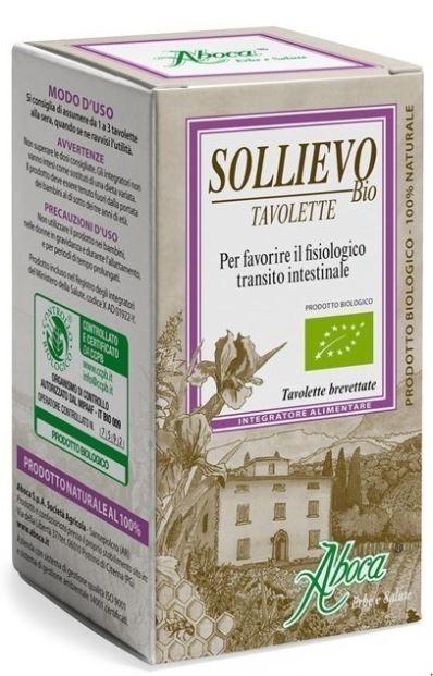 SOLLIEVO BIOLOGICO 45 TAVOLETTE - La farmacia digitale