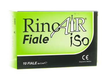 RINOAIR ISO 10 FIALE DA 5 ML - Farmaunclick.it