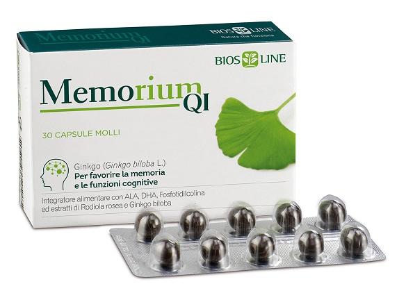 BIOSLINE MEMORIUM QI 30 CAPSULE - Farmafamily.it
