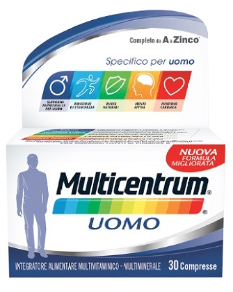MULTICENTRUM UOMO 30 COMPRESSE - Farmacia Bartoli