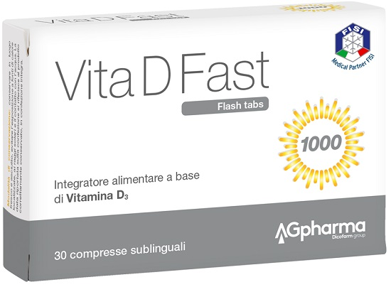 VITA D FAST 30 COMPRESSE - Speedyfarma.it