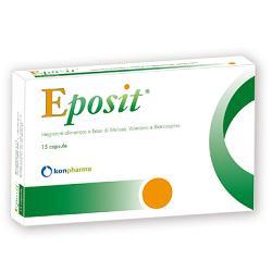 EPOSIT 15 CAPSULE 18,6 G - Parafarmacia Tranchina