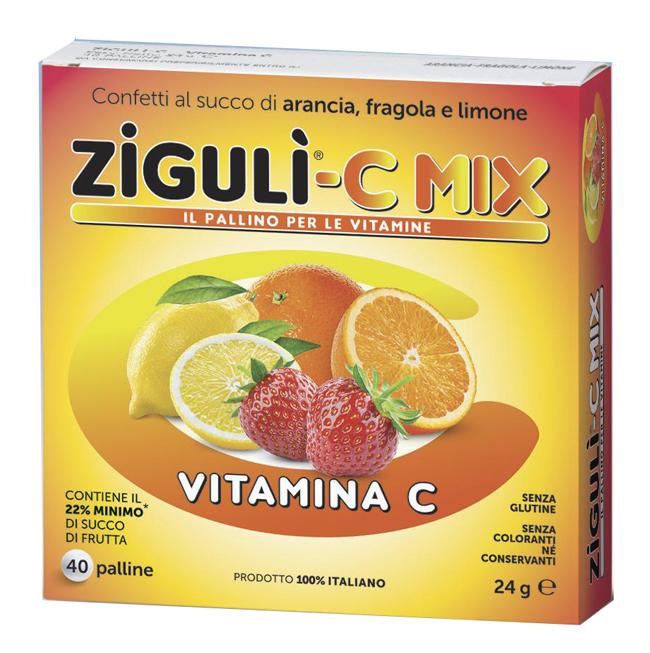 ZIGULI C MIX 40 PALLINE 24 G