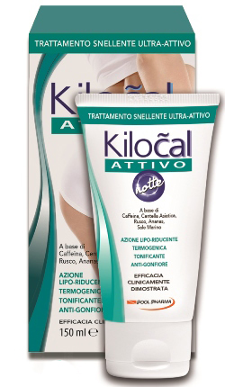 KILOCAL ATTIVO NOTTE GEL 150 ML - Parafarmacia Tranchina