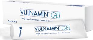 VULNAMIN MEDICAZIONE INTERATTIVA IN GEL A BASE DI AMINOACIDICOSTITUTIVI DEL COLLAGENE E SODIO JALURONATO TUBO 50 G - Farmafamily.it