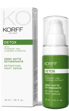 KORFF DETOX SIERO NOTTE DETOSSINANTE 30 ML - Farmacia Massaro