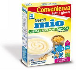 Nestlé Mio Crema Di Riso Mais E Tapioca Senza Glutine 250g - Farmabenni.it