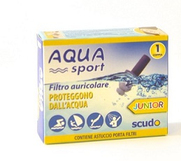 FILTRO AURICOLARE JUNIOR EARPLUG SCUDO AQUASPORT 2 PEZZI - Carafarmacia.it