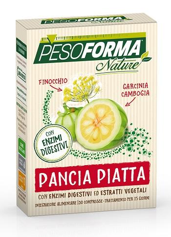 PESOFORMA NATURE PANCIA PIATTA 30 COMPRESSE - Farmastop