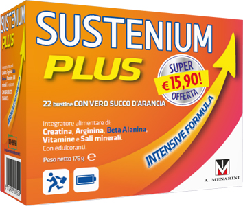 SUSTENIUM PLUS INTENSIVE FORMULA 22 BUSTINE - Turbofarma.it