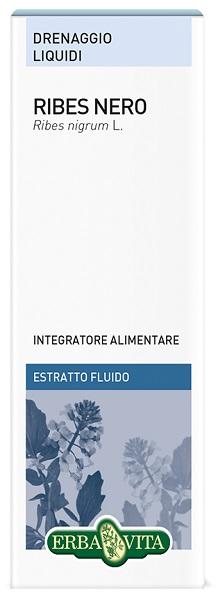 RIBES NERO FOGLIE ESTRATTO FLUIDO 50 ML - Farmacia Centrale Dr. Monteleone Adriano